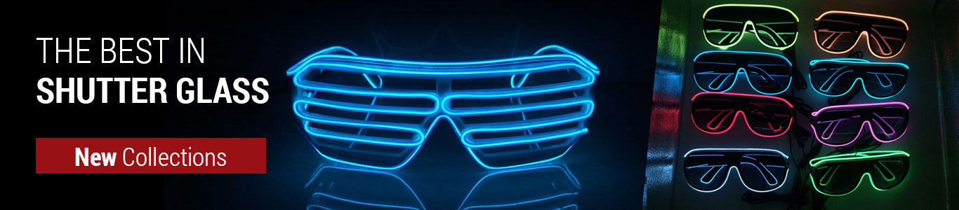 OJ Toca New Collection of LED Glasses